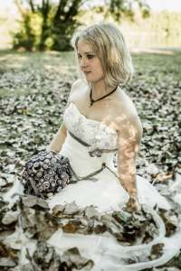 After Wedding - Trash-the-dress Shooting - Fotostudio OWL Kreis Lippe Kalletal - 15