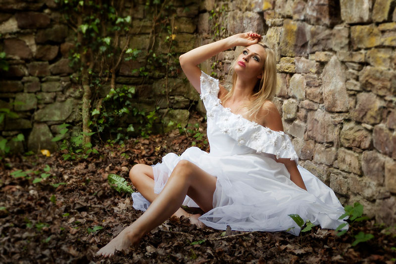 After Wedding - Trash-the-dress Shooting - Fotograf Bielefeld